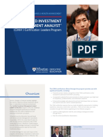 Wharton Certified Investment Management Analyst