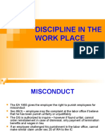 Ch 3_DISCIPLINE IN THE WORK PLACE.ppt