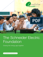 Schneider Electric Foundation Brochure