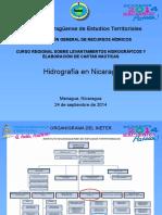 Servicio Hidrográfico en Nicaragua
