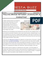 Falling Bridge Between Journalism & Marketing