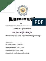 Major Project Report Major PDF