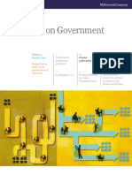 A Leaner Public Sector