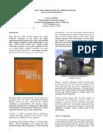 Coriolis Meters for Gas