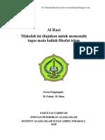 Filsafat Islam AL Rozi