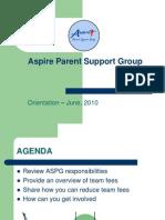 APSG Orientation 2010 - FINAL