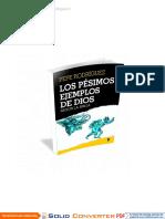 Los Pésimos Ejemplos De Dios Según La Biblia - Pepe Rodriguez.pdf