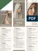 La Madonna pellegrina del santuario di Fatima