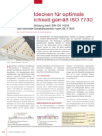 Akustikkuehldecken Fuer Optimale Behaglichkeit Gemaess Iso 7730