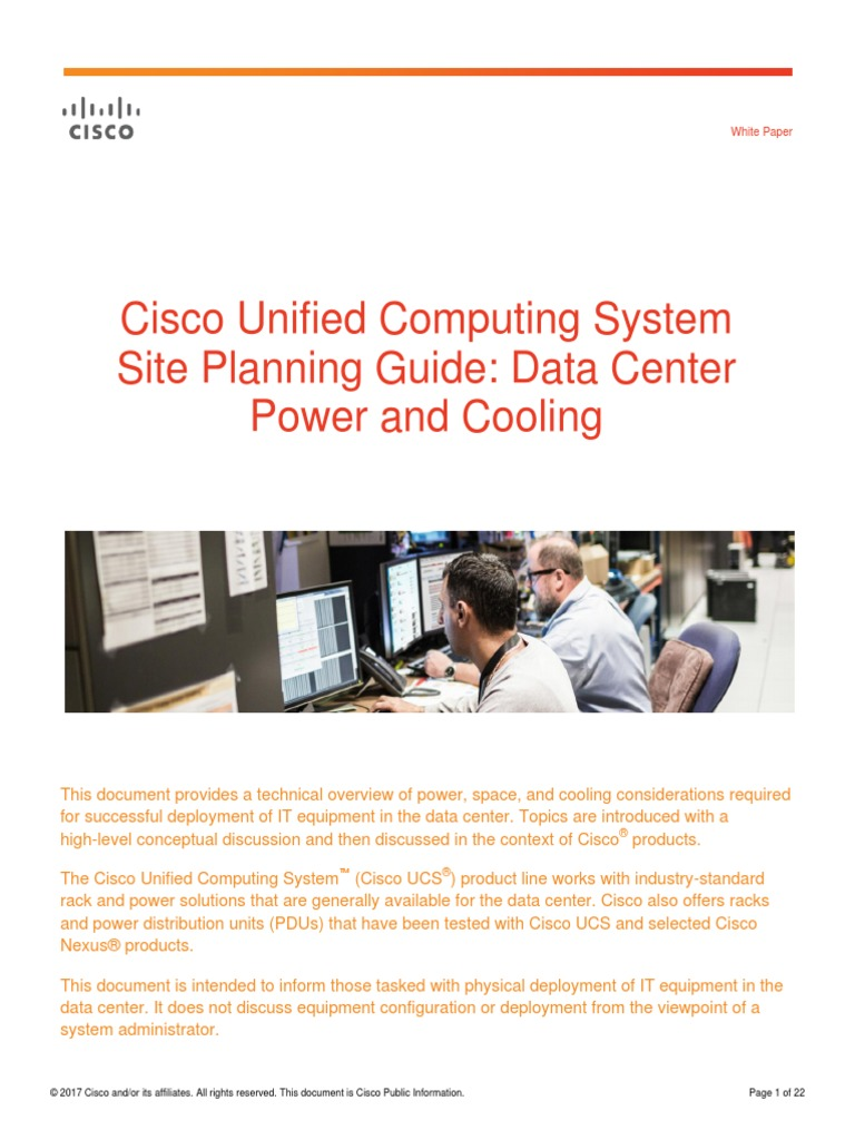 White Paper c11-680202 | Data Center | Hvac
