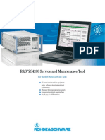 R&S®Series 4200 ZS4200 Local Service Tool - Data sheet