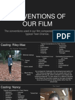 Conventions of Our Film