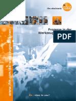 Prozesse in der Werkzeugmaschinenindustrie