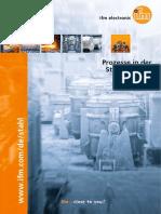 Prozesse in der Stahlindustrie