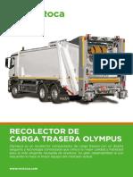 Ficha Recolector Carga Trasera Olympus ESP v.4