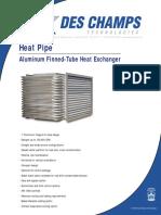 Des Champ_HeatPipe-PDS (Datasheet)
