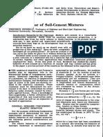 Elastic Behavior of Soil-Cement Mixtures