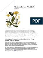 mother tincture in homeopathy.docx