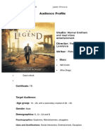 Audience Profile-= i am legend