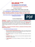 Similimum Ultra-  Homeopathic Software