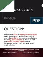 Tutorial Task Rahman Talib