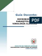 GBQ_Guia Docente Microbiologia, Parasitologia y Virologia Clinicas_2016_FINAL