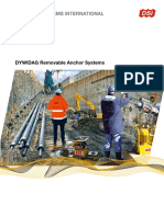 Materiais - DSI-DYWIDAG Removable Anchor Systems EMEA