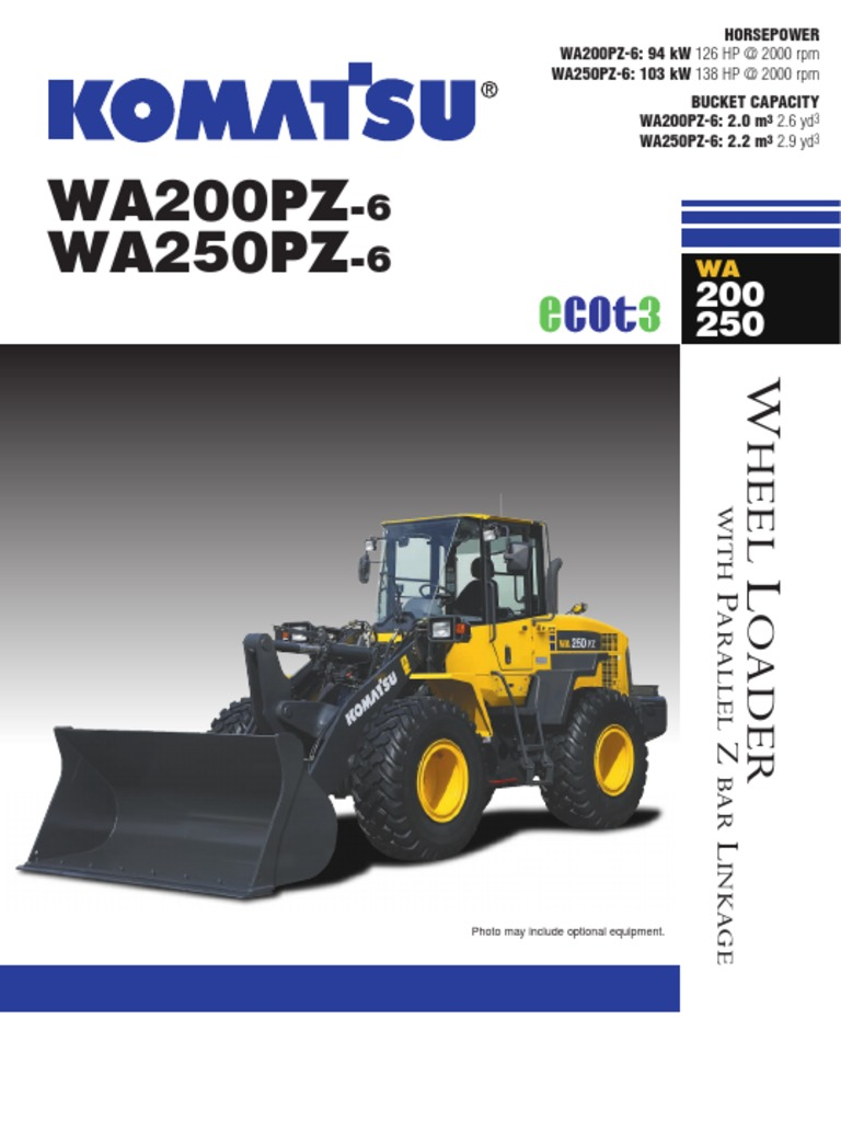 WA200_WA250PZ-6_CEN00296-04_201304 | Loader (Equipment) | Transmission  (Mechanics)