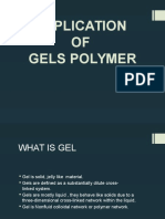 Application of Gels Polymer