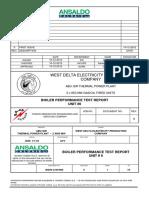 121210 Boiler Performance Test Report Rev0