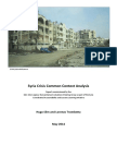 Syria Crisis Common Context Analysis_June 2014