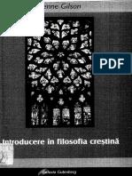 Etienne Gilson - Introducere in filosofia crestina.pdf