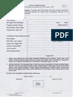 Form Surat Mahasiswa