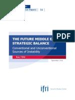 The Future of Middle East Strategic Balance