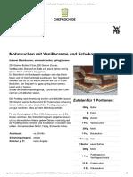 Chefkoch.de Rezept_ Mohnkuchen Mit Vanillecreme Und Schoko