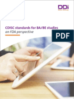 CDISC-Standards for BA,BE Studies