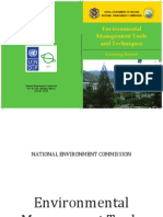 Environmental Management Tools and Techniques
