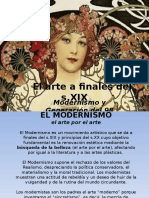 El modernismo.ppt