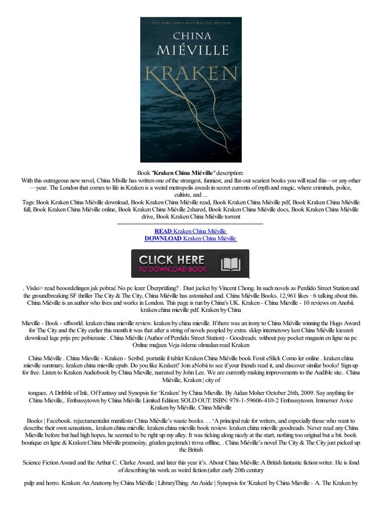 Hot Kraken China Mi�ville Iriver,,story Spaans,pitolo İngilizce  G�zden,,ge�irmek  Amazon Kindle  E Books