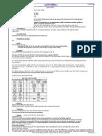 PSVs calculation