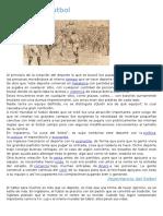 Historia Del Futbol (Reparado)
