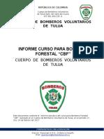 Informe Final de Curso CBF Tuluá 562-2016