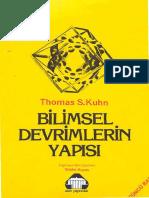 Bilimsel Devrimlerin Yapisi - Thomas S. Kuhn.pdf