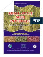 Small Scale Seed Interprise