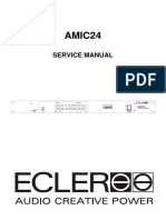 Ecler Amic24 Processor Service Manual