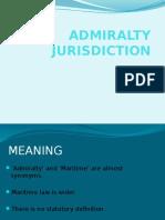 Admiralty Jurisdiction