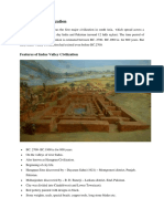 AI 1 - Indus Valley Civilization
