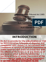 Administrative Tribunal