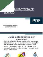 Diseño de Un proyecto de Servicio 2Medio
