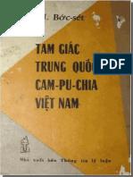 Tam Giác Trung Quốc - Cambodia -  Vietnam - Wilfred G Burchett